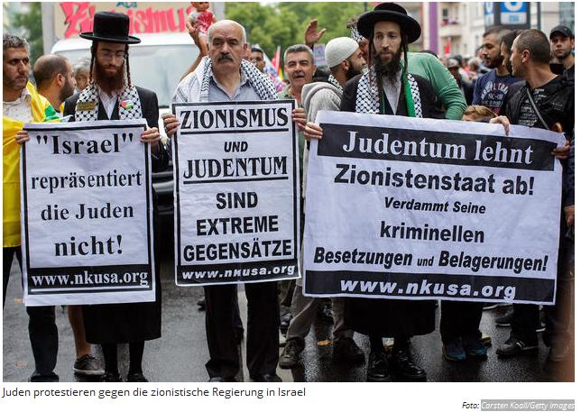 juden gegen zionismus
