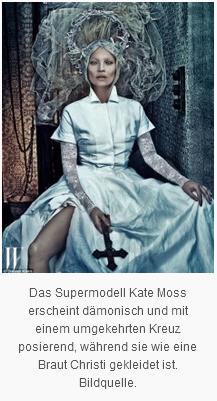 kate Moss- satanisch