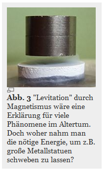 levitation durch magnetismus
