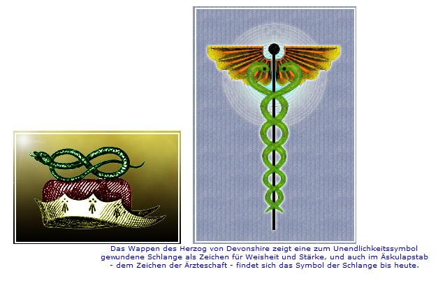 schlange in symbolen