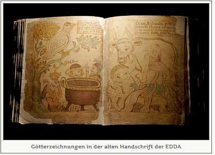 götterzeichnung EDDA
