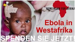 Weihnachtsaktion- Spenden FÜR Ebola