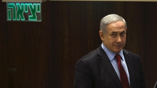 Israel-s-Prime-Minister-Benjamin-Netanyahu-arrives-to-a-session-of-the-Knesset-