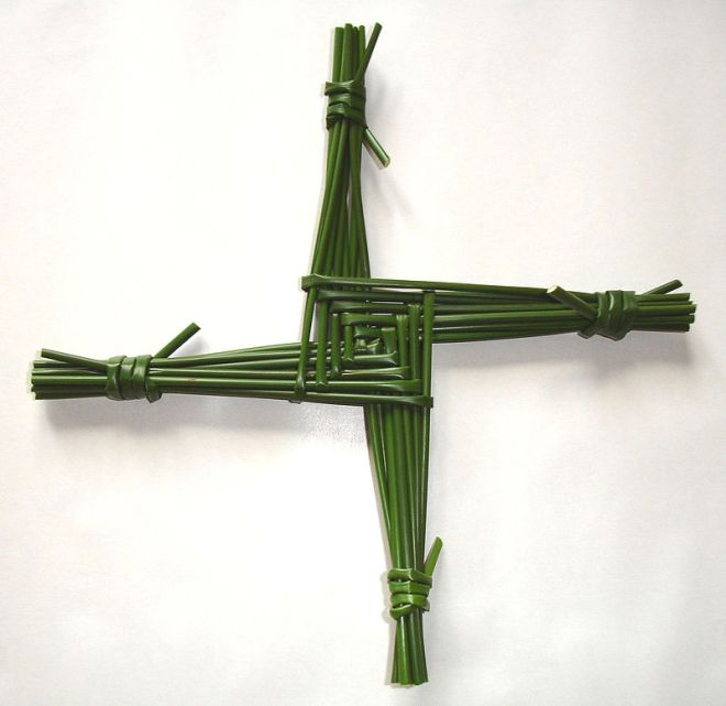 Kreuz der heiligen Brigitta von Irland