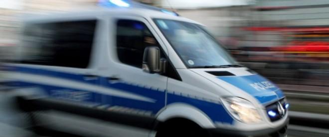 Polizeiwagen-verschwommen
