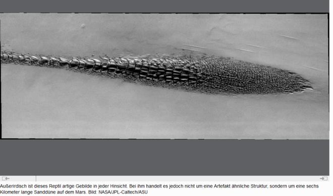 außerirdisches reptil