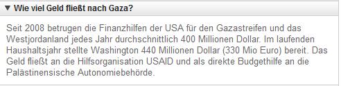 USAhilfe für Israel 2