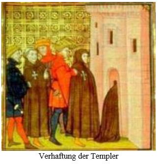 verhaftung der templer