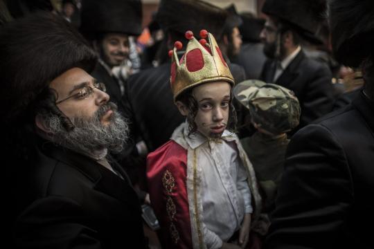Purim-in-Bnei-Brak