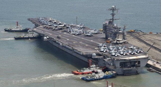 Flugzeugträger-USA