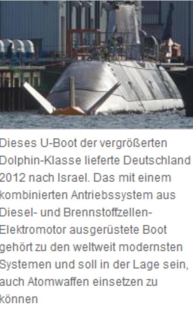 noch ein U-boot für israel