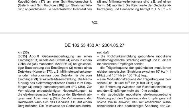 patent gedankenübertragung 17