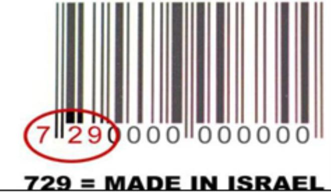 729- israelische Länderkennung