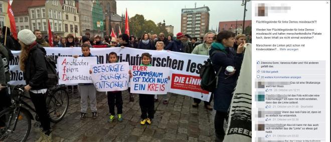 die linken- demo Oktober 2015