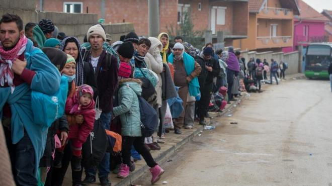 Thousand-Of-Migrants-Cross-Into-Serbia-On-Route-To-Northern-Europ