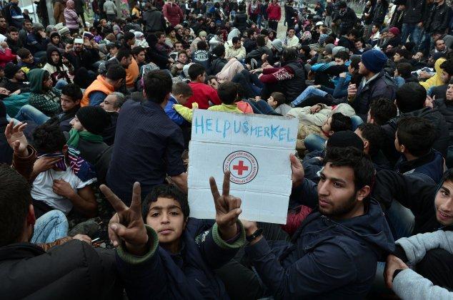 griechenland flüchtling