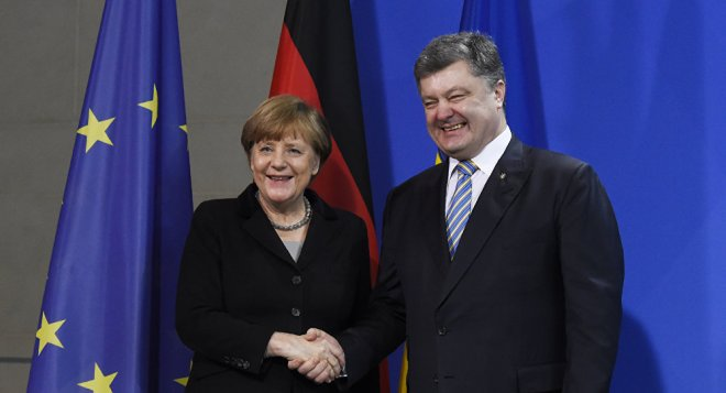 Merkel-Poroschenko