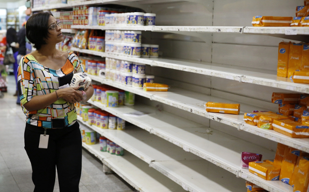 venezuela-supermarket-empty-shelves