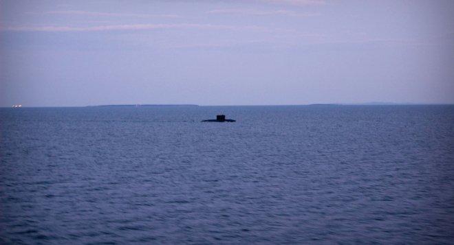 U-Boot-weites Wasser