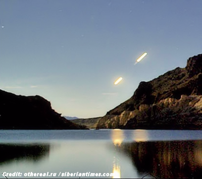 UFOs, Aliens, Steven Spielberg and The Mysterious Lake Baikal