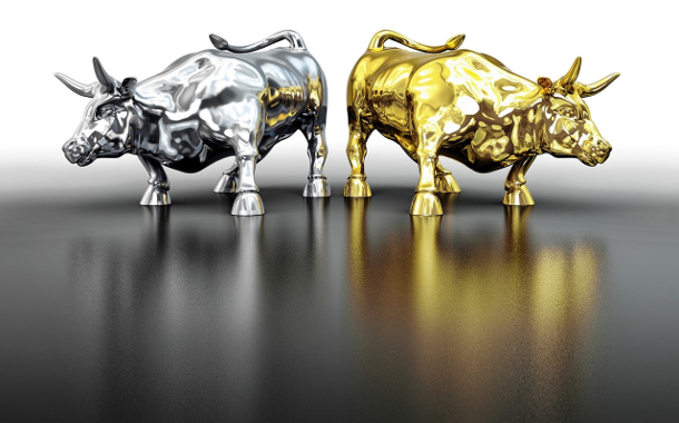 gold-silver-bull
